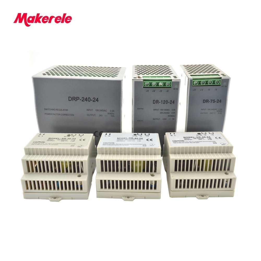 Din Rail power supply 12/24V ac dc switching Power Supply 30W 45W 60W 75W 120W 240w with Ce Approv for led driver блузка t tahari блузка
