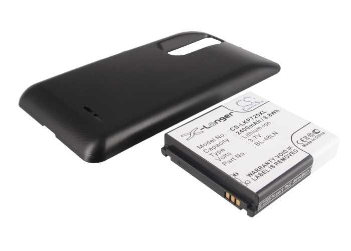 Кэмерон китайско удлиненные 2400 мАч BL-48LN Батарея для LG Optimus 3D Max, P725