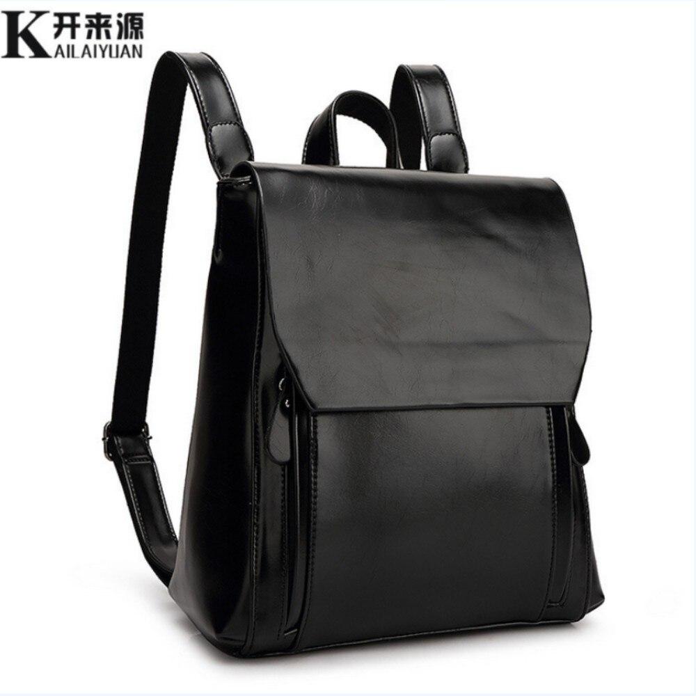 KLY 100 Genuine leather font b Women b font font b backpack b font 2017 New