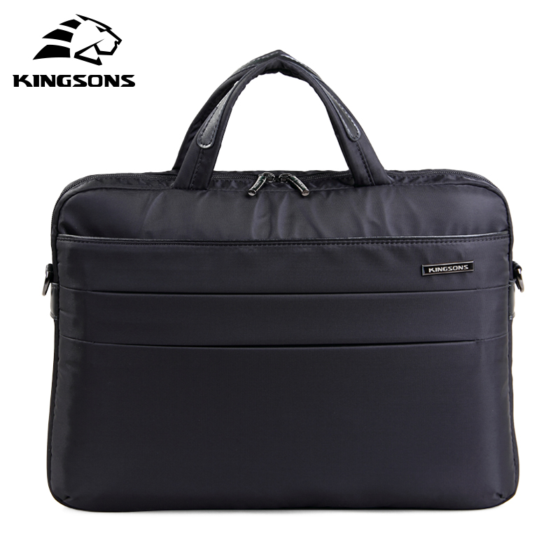 Kingsons 14.4 inch New Laptop Messenger Bag Multi-functional Briefcase Vogue Notebook Computer Bag Waterproof Messenger KS3064W