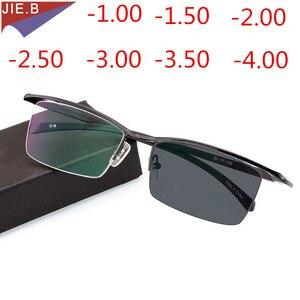 Image 3 - موضة جديدة لعام 2020 نظارات نسائية من خليط معدني فوتوكروميك إطار TR90 نظارات شمسية نهائية نظارات لقصر النظر