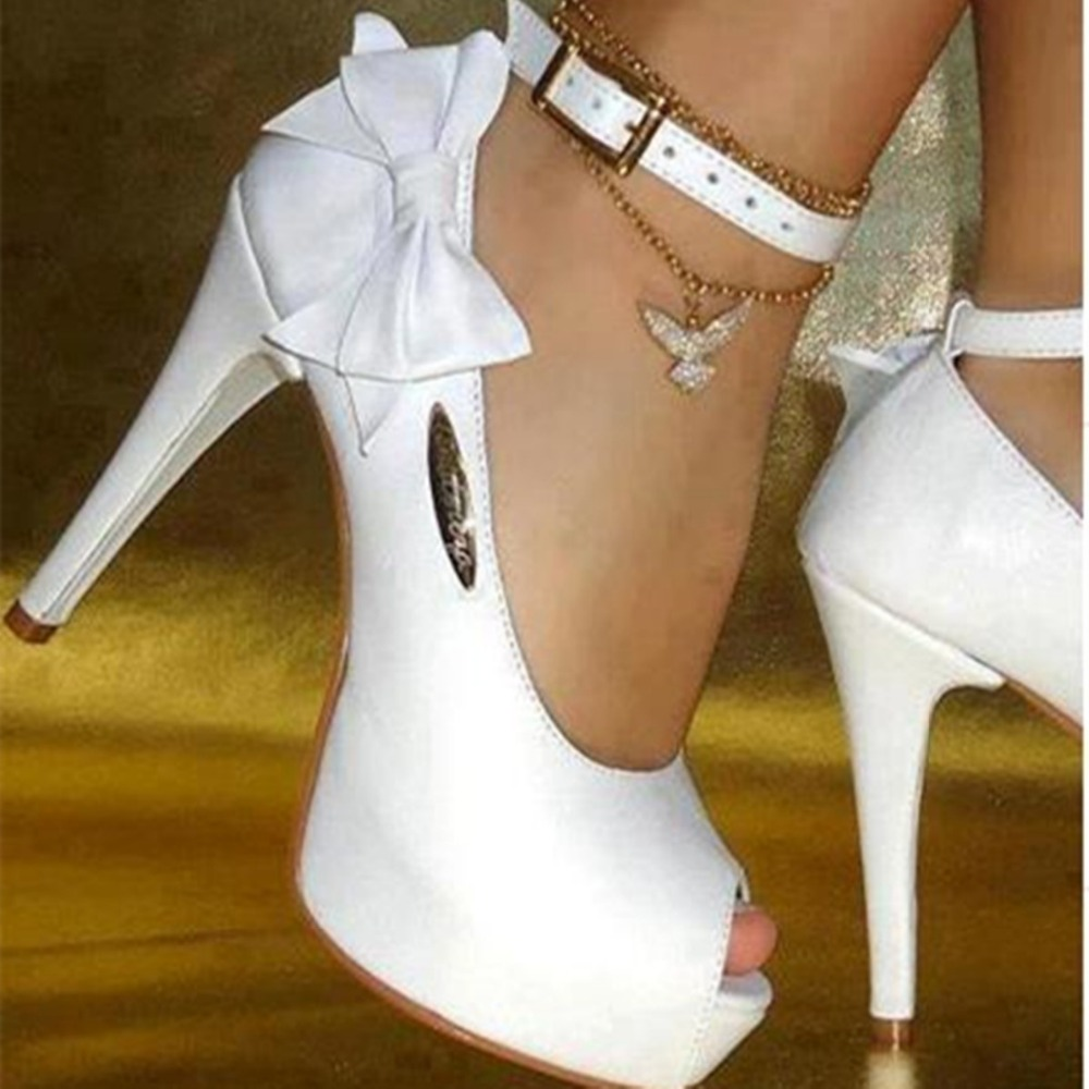 PADEGAO 2017 fashion high heels buckle strap party shoes lady sandals for women plus size wedding sandals xd099-0 brand new sale fashion low fretwork heels rhinestone women party shoes elegant sweet ankle buckle strap lady top quality sandals