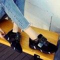 2016 nova moda outono casuais sapatos de caminhada respirável sapatos macios sapatos de sola de borracha sapatos de singles