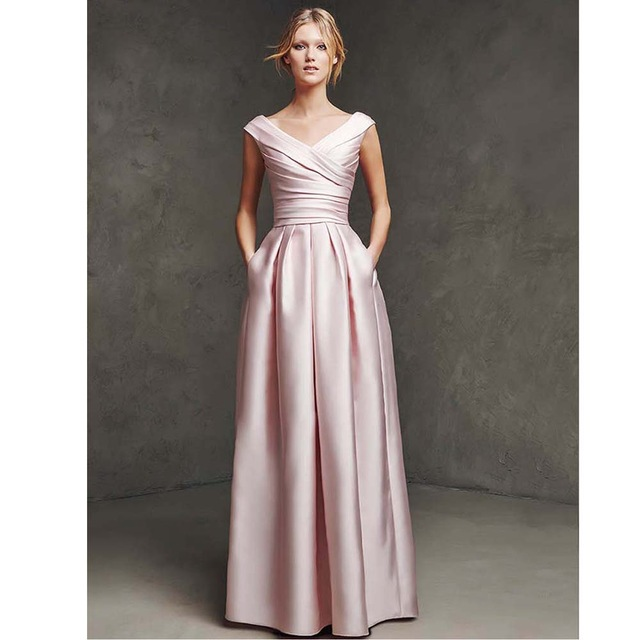 The Mother of Bride Dress Blush Pink