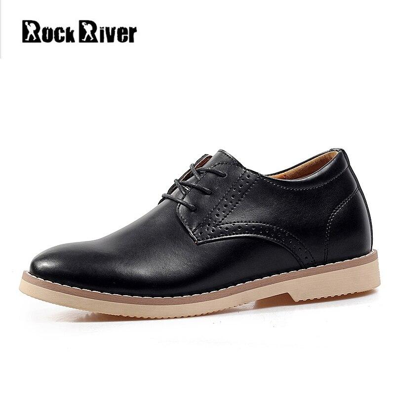 2019 interne augmenté 7 cm italien hommes chaussures habillées en cuir véritable hommes bureau chaussures formelles L Oxford chaussures de mariage hommes