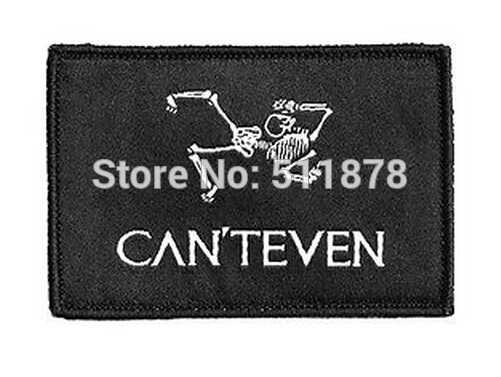CAN T EVEN Morale Patch Everyday No Days Off Luxury Operating Equipment Hook and Loop Patch