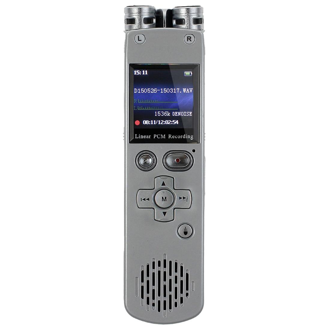 8GB Digital Linear PCM Voice Recorder Presenter Remote Control MP3 Player