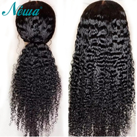 NYUWA 13X6 Lace Front Human Hair Wigs With Baby Hair Pre Plucked Remy Hair Lace Front Wigs Brazilian Lace Wigs For Black Women