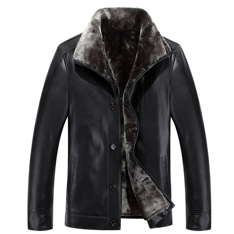 Mens Winter Leather Jackets Images High Quality