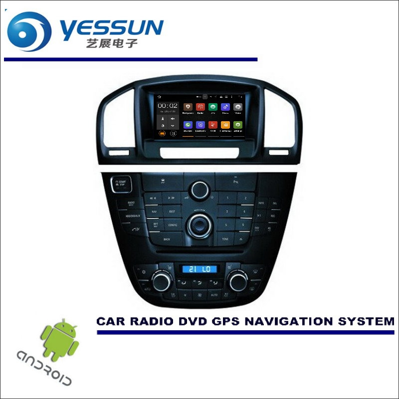 цена на YESSUN Wince / Android Car Multimedia Navigation For Opel Insignia For Bitter Insign CD DVD GPS Player Navi Radio Stereo Screen