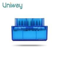 Uniway MINI ELM327 OBD2 Bluetooth Vehicle Diagnostic Tool OBD2 OBD II Car Interface Scanner
