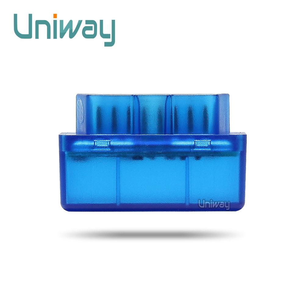 Uniway  XW05 MINI ELM327 OBD2 Bluetooth Vehicle Diagnostic Tool OBD2 OBD-II Car Interface Scanner