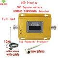 Melhor preço LCD reforço! GSM 900 sinal de telefone celular impulsionador repetidor amplificador, repetidor de sinal de celular gsm impulsionador + antena