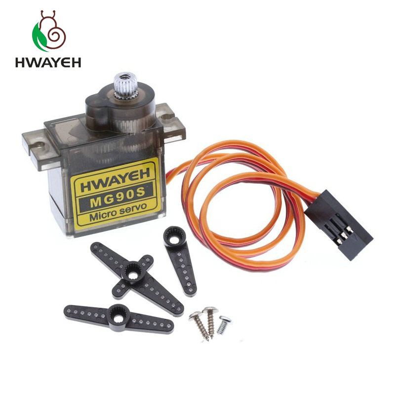Metal Gear Digital MG90S 9g Servo Upgraded SG90 High Speed For Rc Helicopter Plane Boat Car MG90 9G