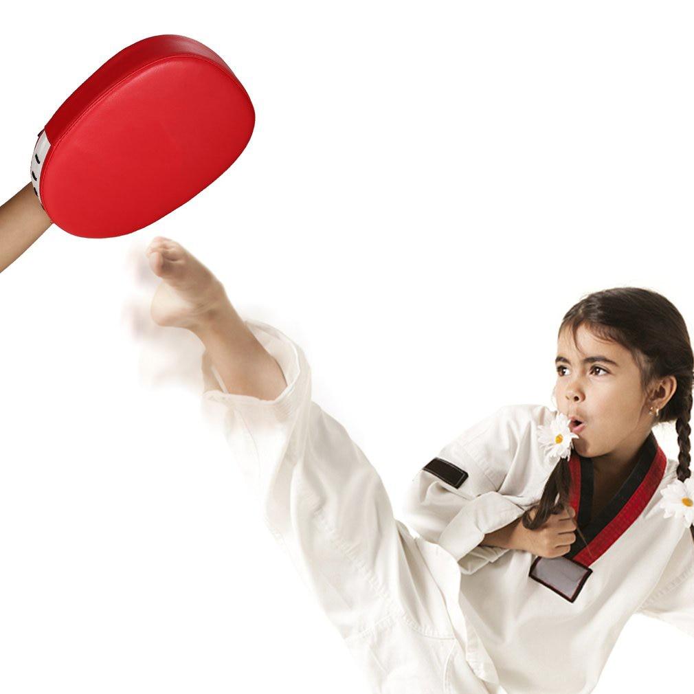 Martial Arts Punching Mitts Leather Hand Targets MMA Taekwondo /& Boxing PAIR