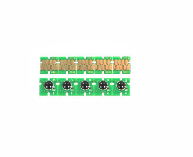 1set  T6941-T6945 Cartridge One Time Chip For Epson SureColor T3000 T3070 T5070 T7070 T3200 T5200 T7200 T3270 T5270 T7270 700ml 5 color refillable ink cartridge with one time chip for epson surecolor t7270 printer