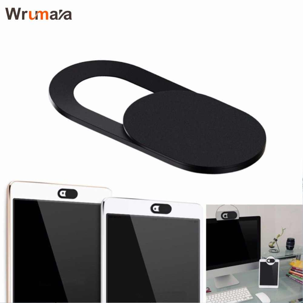 1Pcs Wrumava Webcam Cover Privacy Shutter Protection For Smartphone Laptop Camera Protector Lens Cover Shield Stickers