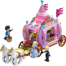 Q1104 Building Blocks New Windsor Castle Royal Carriage Childrens Educational Toys Girl Exclusive