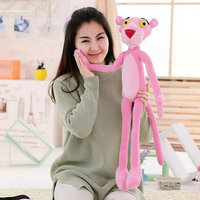 Large Size Toys 80 120CM New Arrived Leopard Plush Toy Pink Leopard Girls Wedding Christmas Holiday