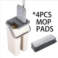 4pcs mop cloth