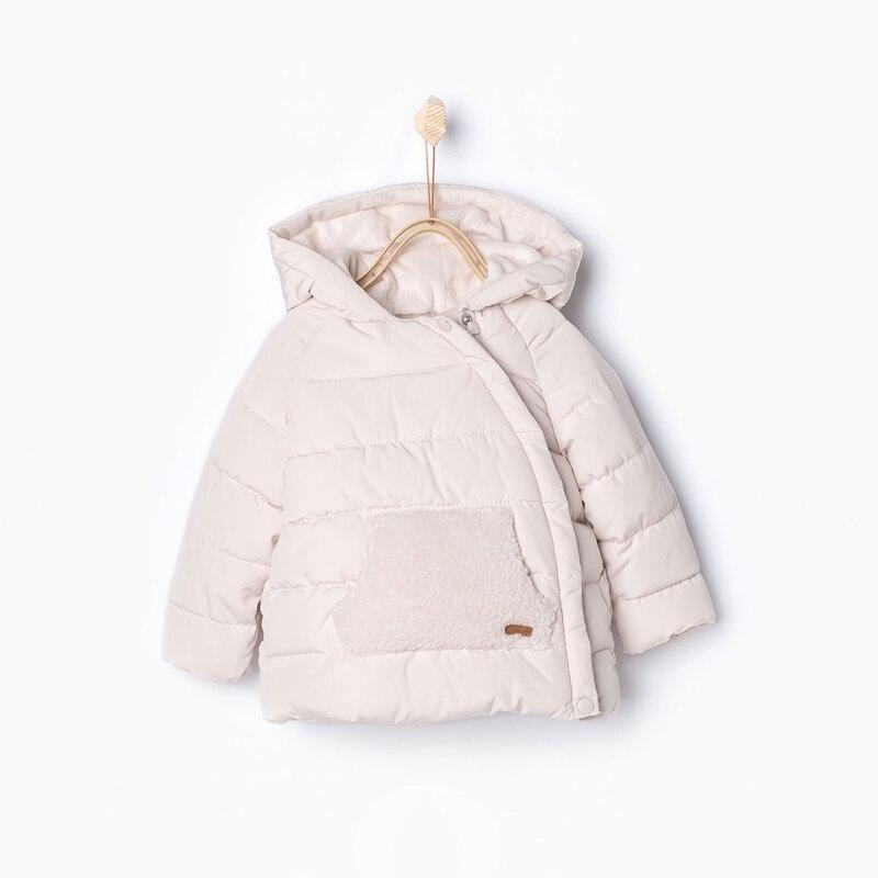 Детская Обувь для девочек Детские Симпатичные Уши стеганая хлопковая одежда для малышей Зимние Пальто для девочек одежда Лидер продаж тепл...