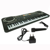 Children Music Toy 61 Keys Digital Music Piano Electronic Keyboard Key Board quality Plastic Music instrument For Education