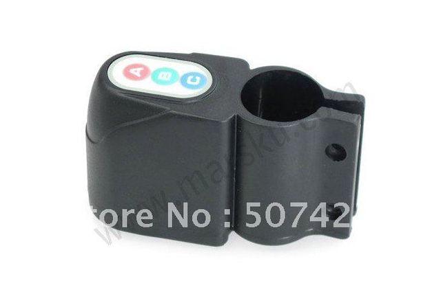 10pcs/lot Bike Bicycle Security Alarm 110 db Audible Sound Lock +Free shipping #1006