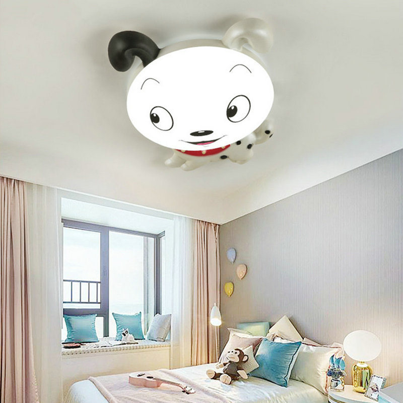 Artpad Cartoon Figures Cute Children Ceiling Lights Acrylic Sconces AC110V 220V Dimmable Girl Boy Baby LED
