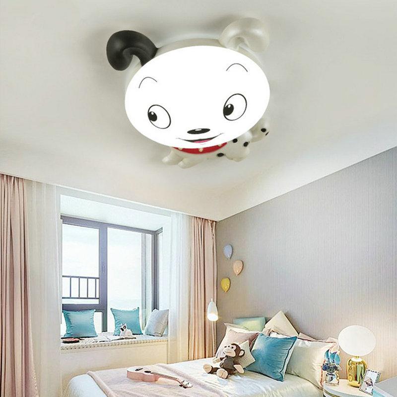 Artpad dessin animé chiffres mignon enfants plafonniers acrylique appliques AC110V-220V Dimmable fille garçon bébé LED chambre lampe