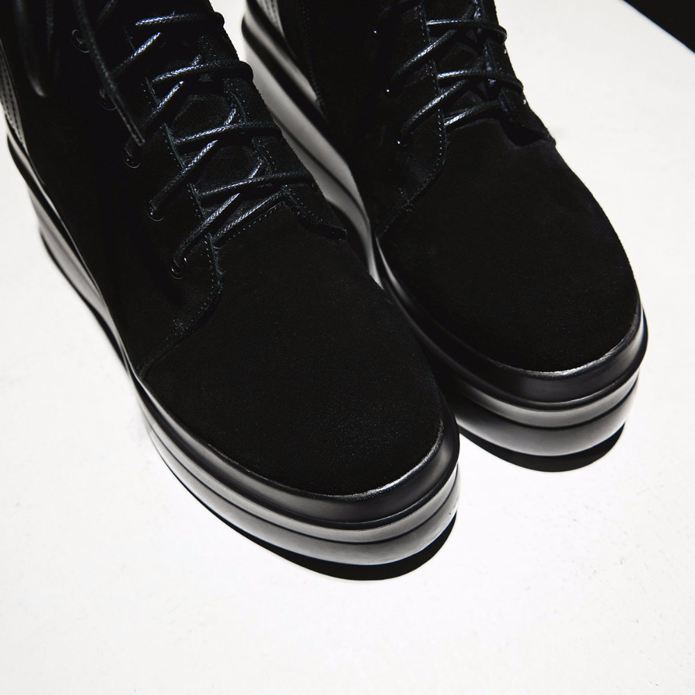 Cheville Bottes Up Noir Rond Mode Pour Fille Lace Femmes 2018 Épais Inférieurs Zipper Chaussures Msfair Bout Boot Coins zq5O6R