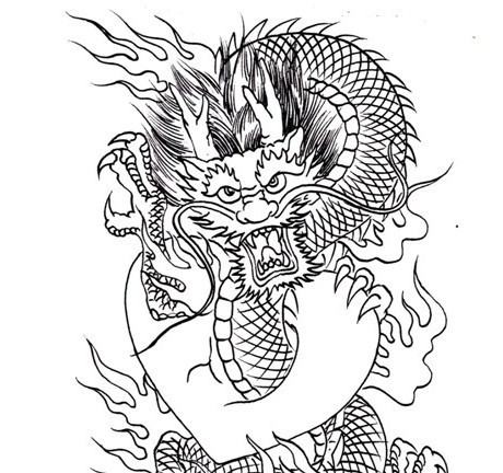 pdf format tattoo book 83 pages dragon outline tattoo sketches tattoo designs tattoo flash sketchbook free - Tattoo Coloring Book Pdf