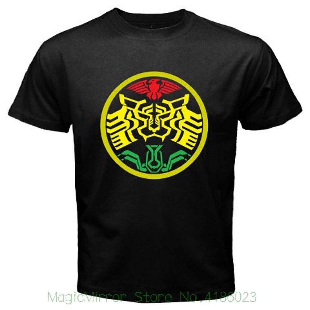 New Kamen Rider Ooo Super Tatoba Symbol Mens Black T-shirt Size S To 3xl Harajuku Cool Tshirt Homme