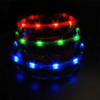 5PCS LED Slim Spaceman UFO Light Up Glasses Kids Adults Christmas Gift Glow Luminous Eyewear Sunglasses