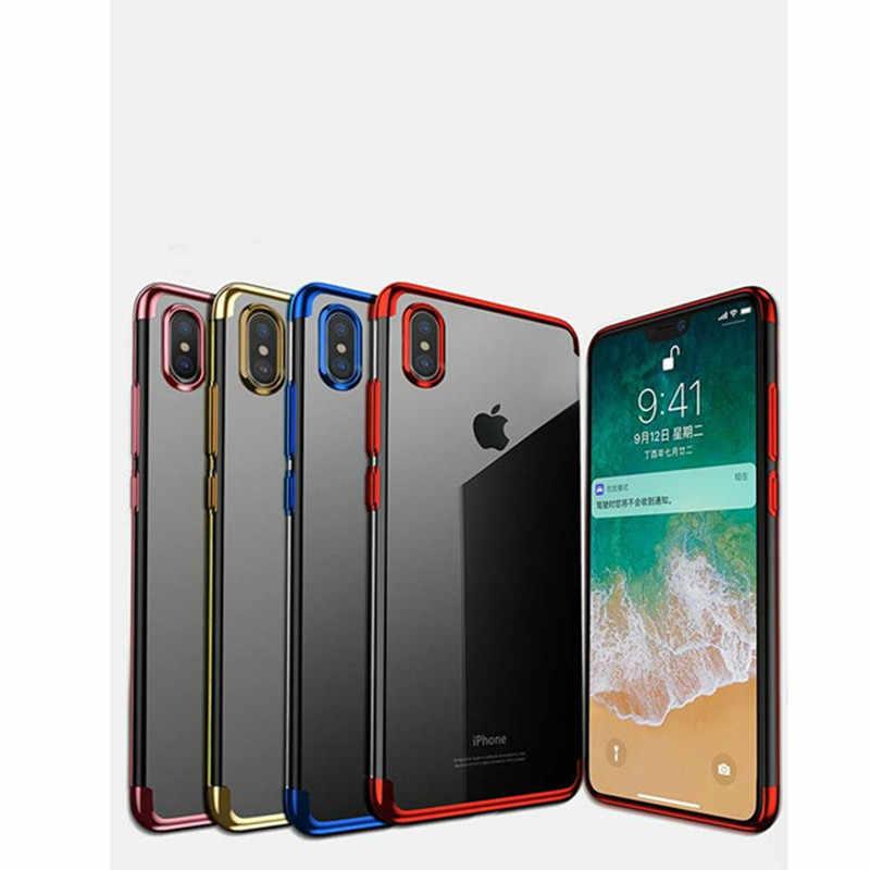 Capa de telefone macia de silcone colorido para iphone 6s 7 8 plus x xr xs max 5 5S se rei rainha conque fundas para iphone 7 caso de telefone
