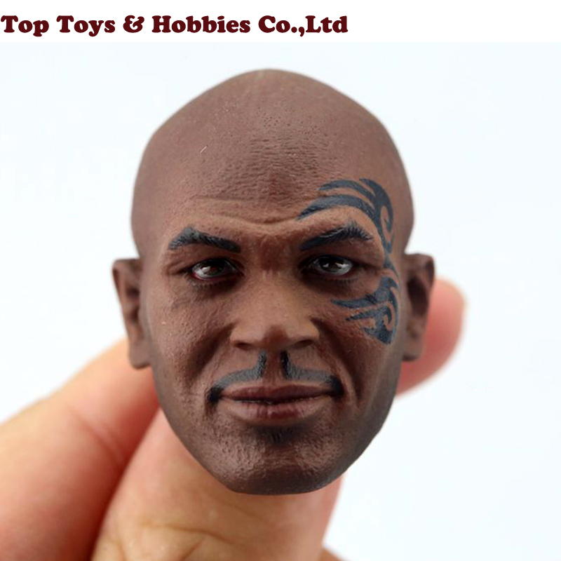 1/6 Scale Fighting Champion Mike Tyson Head Carved Model with Tattoo Version Male Head Sculpt toy Fit 12 Solider Figure1/6 Scale Fighting Champion Mike Tyson Head Carved Model with Tattoo Version Male Head Sculpt toy Fit 12 Solider Figure