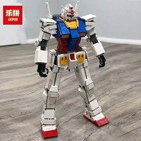 2018 New Lepin 26001 Movie Series The MOC Super Robot Warrior Set Model Building Blocks Bricks Education Kid Toys Christmas Gift