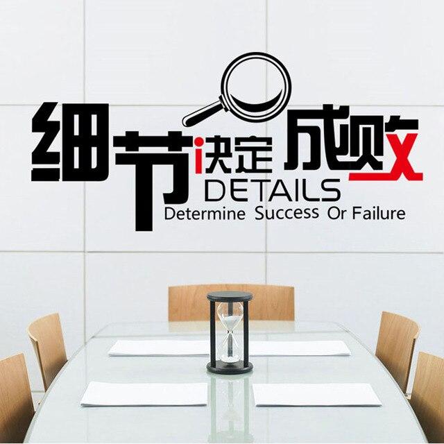 [Fundecor] Diy Home Decor  Details Determine Success Or Failure  Letters  For Design
