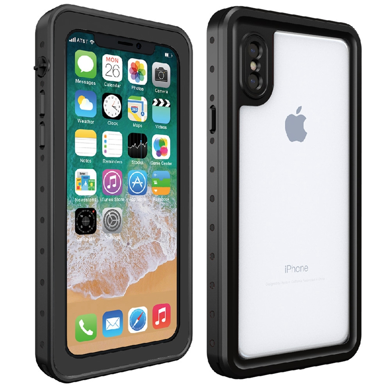 For Iphone X XS Waterproof Case Water Resistant Cover For Iphone X 8 8 Plus 7 7 Plus Underwater Watertight Full Protect Case
