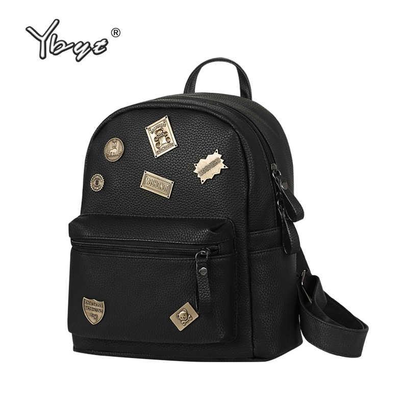 e5768a99c4ed preppy style sequined black rucksack hotsale shopping women bags ladies  travel bookbags famous designer student school
