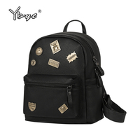 Preppy Style Sequined Black Rucksack Hotsale Shopping Women Bags Ladies Travel Bookbags Famous Designerstudent School Backpacks