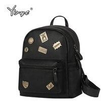 Опрятный стиль блестками черный рюкзак hotsale торговые женщины сумки дамы известный дизайнер студент школы рюкзаки bookbags