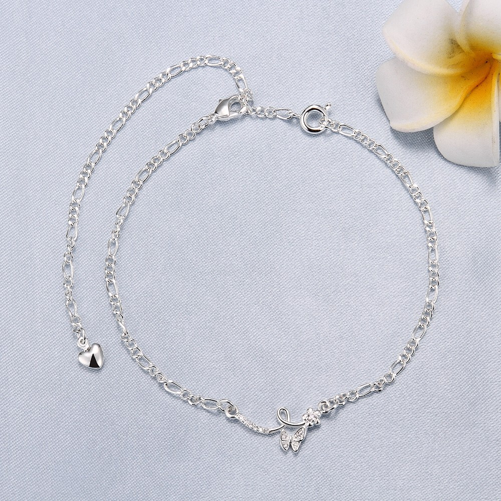 adorable plated best designer ankle images jewelry anklet bracelet bracelets silver anklets foot on pinterest