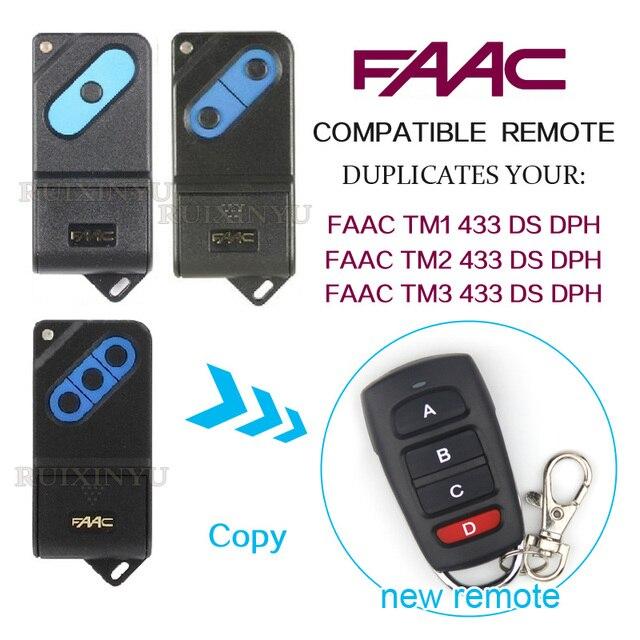 Copy Faac Remotes Faac Tm2 433dsdph Faac Tm4 433ds Dph Remotes