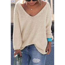 6 Color – Stylish Loose Knitted Pullover/Sweater