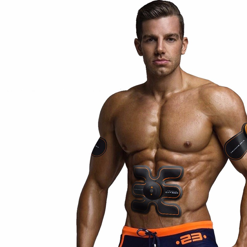Rechargeable Battery Gym Electronic Body Muscle Arm Waist Abdominal Exerciser Muscle Massaging Machine Viberating Slim Belt (18)_