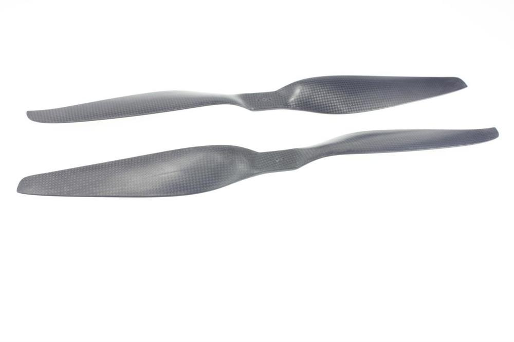 цена на F08919 1 Pair 18 1855 CW CCW Propeller T-Series 1855 1855R 18X5.5 Carbon Fiber Prop Propeller CW/CCW Multi-copter Quadcopter
