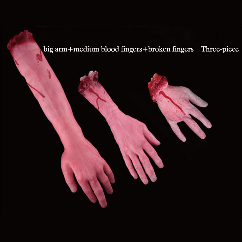 13Piece / set Halloween Horror rekviziti strašljivo odrezani krvavi - Prazniki in zabave - Fotografija 4