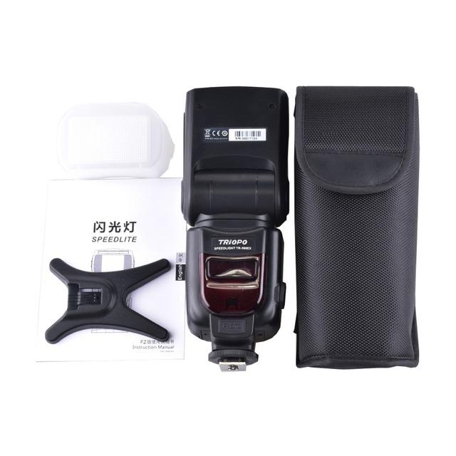 TRIOPO TR-586EX Wireless Flash Mode TTL Speedlite Speedlight For Nikon D750 D800 D600 D700 D610 D7100 D7000 For Canon Camera
