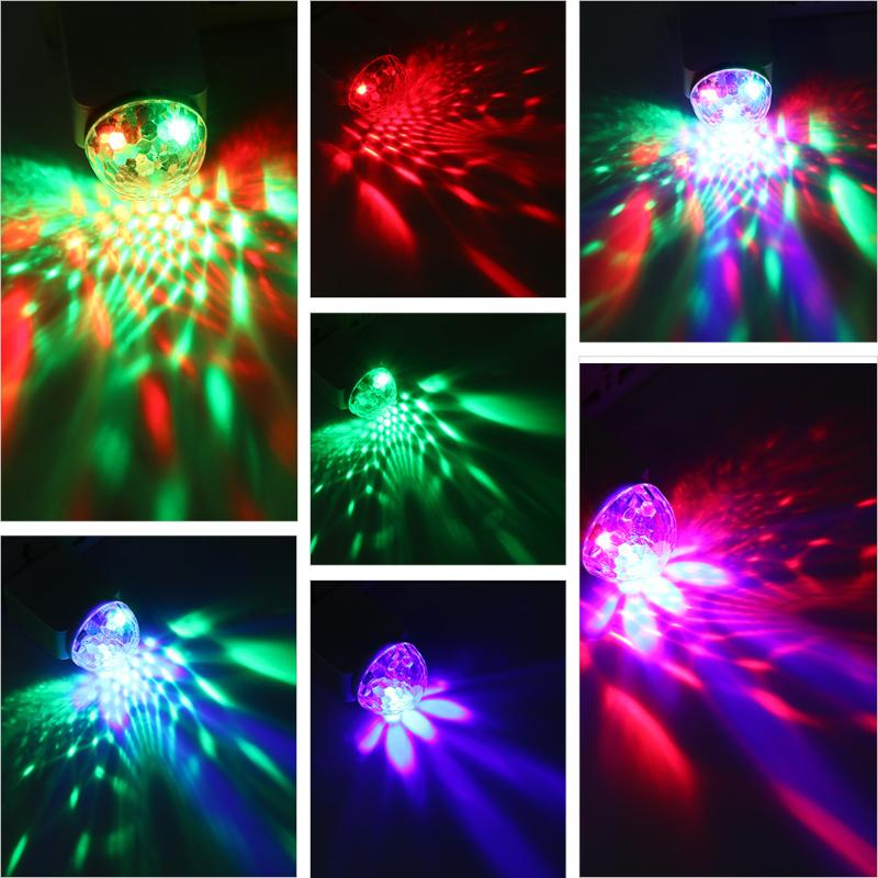 USB Disco Light Music Lights Color Change with Music DJ Light Stage Party Stroboscope Lighting at Home