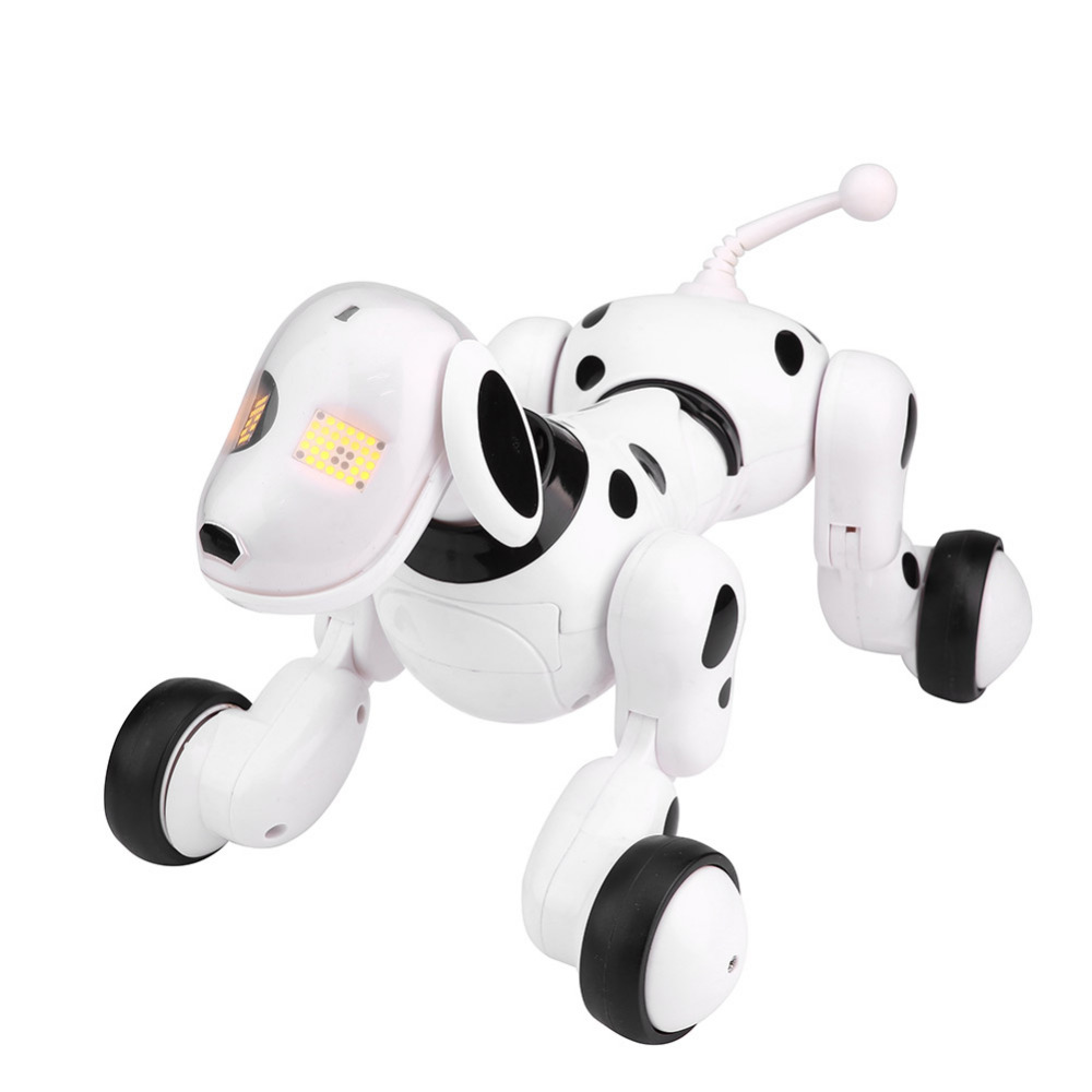 RC Dog Toy Smart Sing Dance Walking Infrared Remote Control RC Dog Robot Kids Boys Toy Educational Learning Toy Gifts Hot Sale